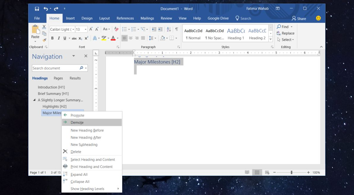 how to change multiple heading levels in ms word 1 How To Change Multiple Heading Levels In MS Word
