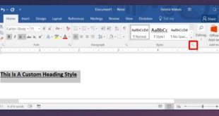 how to create custom heading styles in ms word How To Create Custom Heading Styles In MS Word