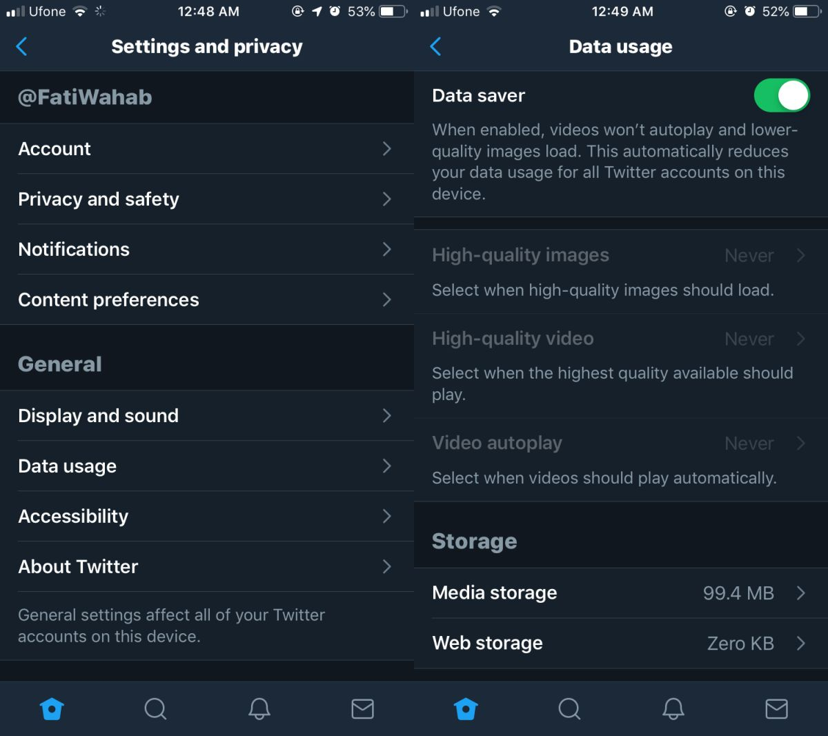 how to enable the data saver in twitter apps How To Enable The Data Saver In Twitter Apps
