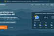 WeatherStack API: Real-time Weather Data for Your Project
