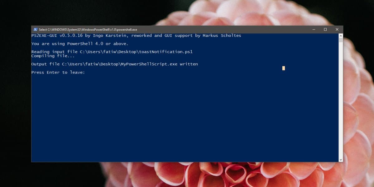 how to convert a powershell script to exe on windows 10 1 How to convert a PowerShell script to EXE on Windows 10