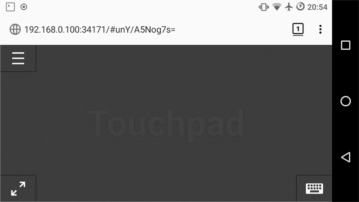 how to use your smartphone as a touchpad for linux 1 How to use your smartphone as a touchpad for Linux