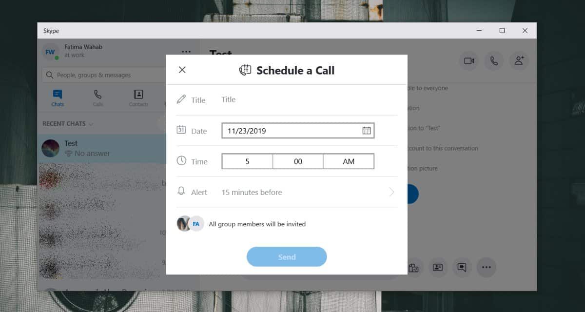 how to schedule a group call on skype 1 How to schedule a group call on Skype