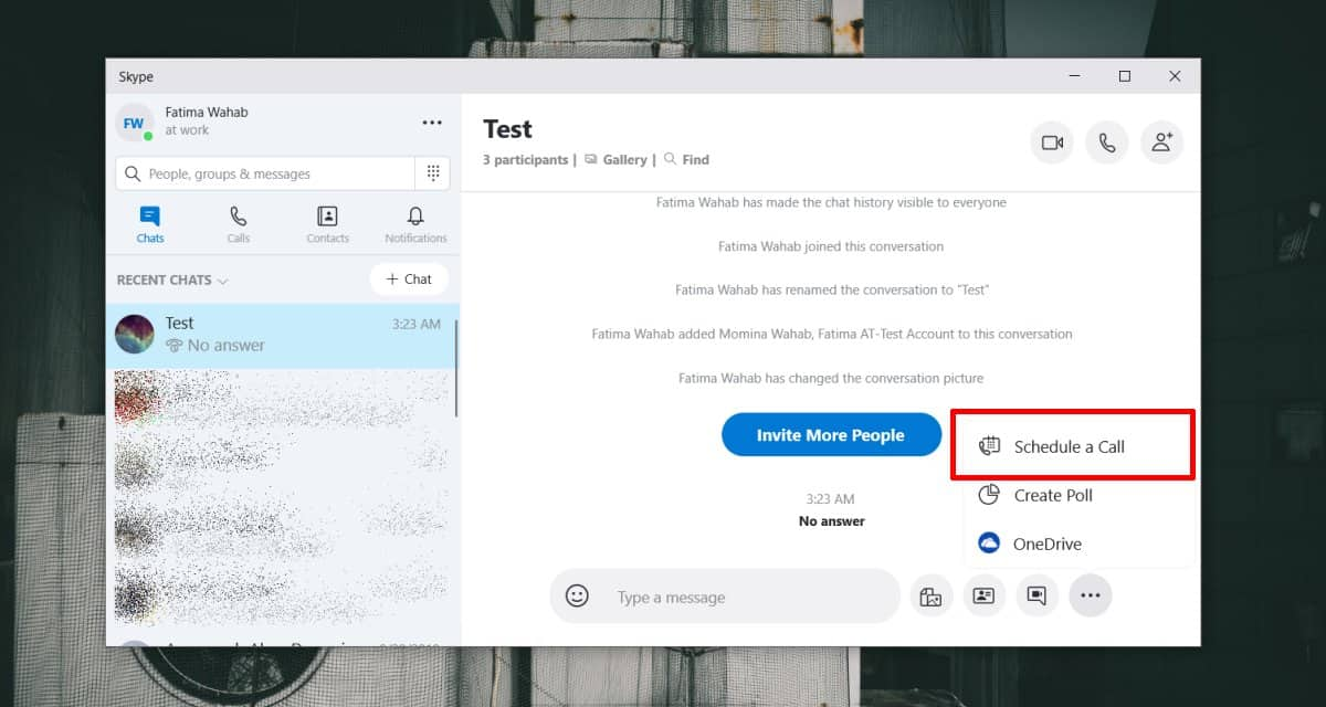 how to schedule a group call on skype How to schedule a group call on Skype