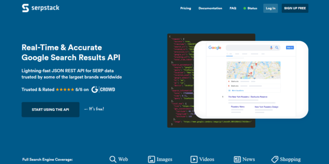 Serpstack Review: A JSON Rest API for Google Search Results