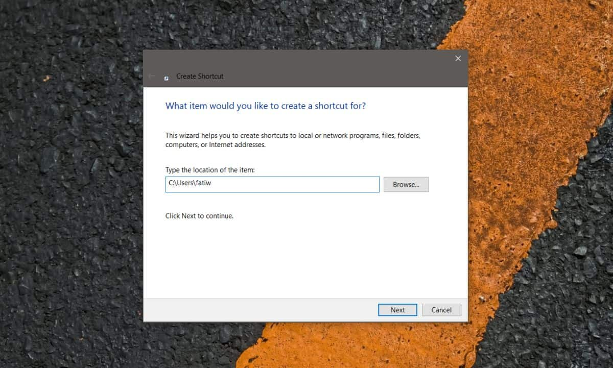how to access the user folder on windows 10 2 How to access the user folder on Windows 10