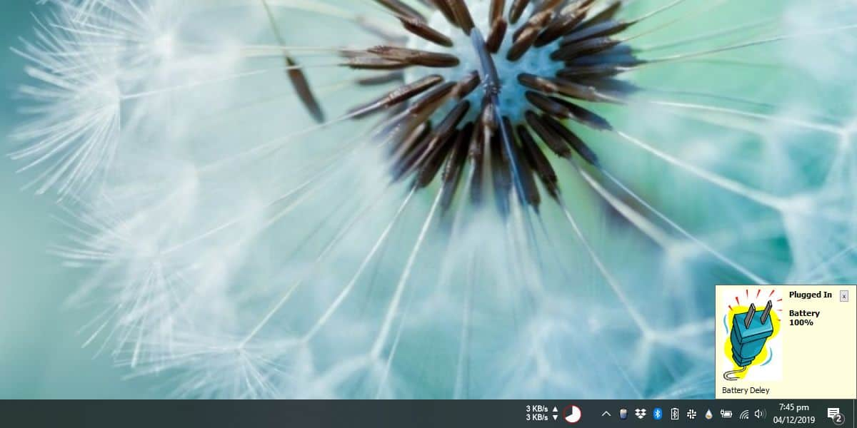 how to get power cable connected disconnected alerts on windows 10 1 How to get power cable connected/disconnected alerts on Windows 10