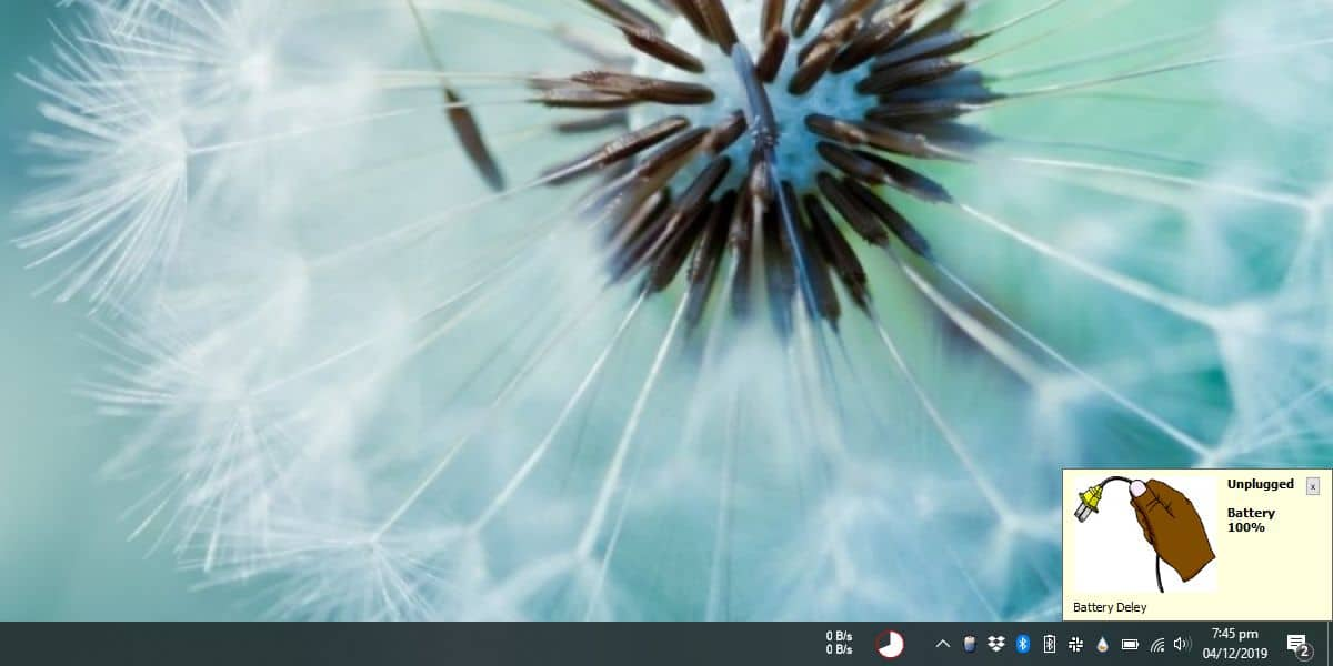 how to get power cable connected disconnected alerts on windows 10 How to get power cable connected/disconnected alerts on Windows 10