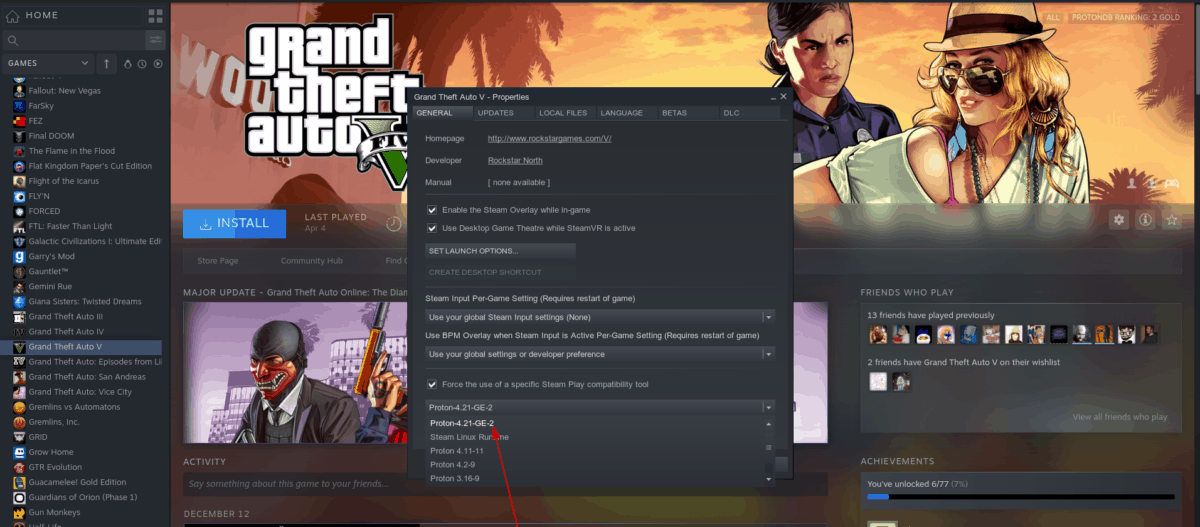 how to play grand theft auto 5 on linux 1 How to play Grand Theft Auto 5 on Linux