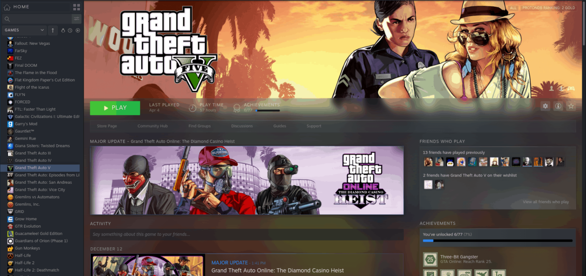how to play grand theft auto 5 on linux 4 How to play Grand Theft Auto 5 on Linux