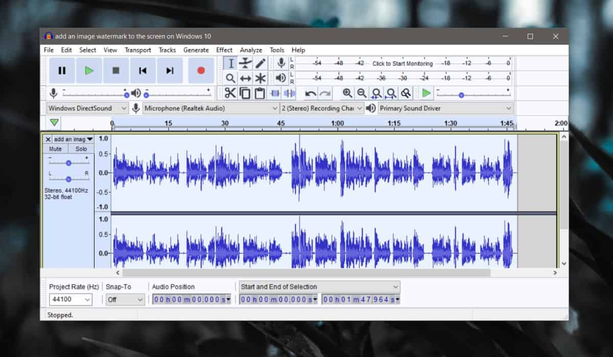 how to remove silence from an audio file on windows 10 How to remove silence from an audio file on Windows 10
