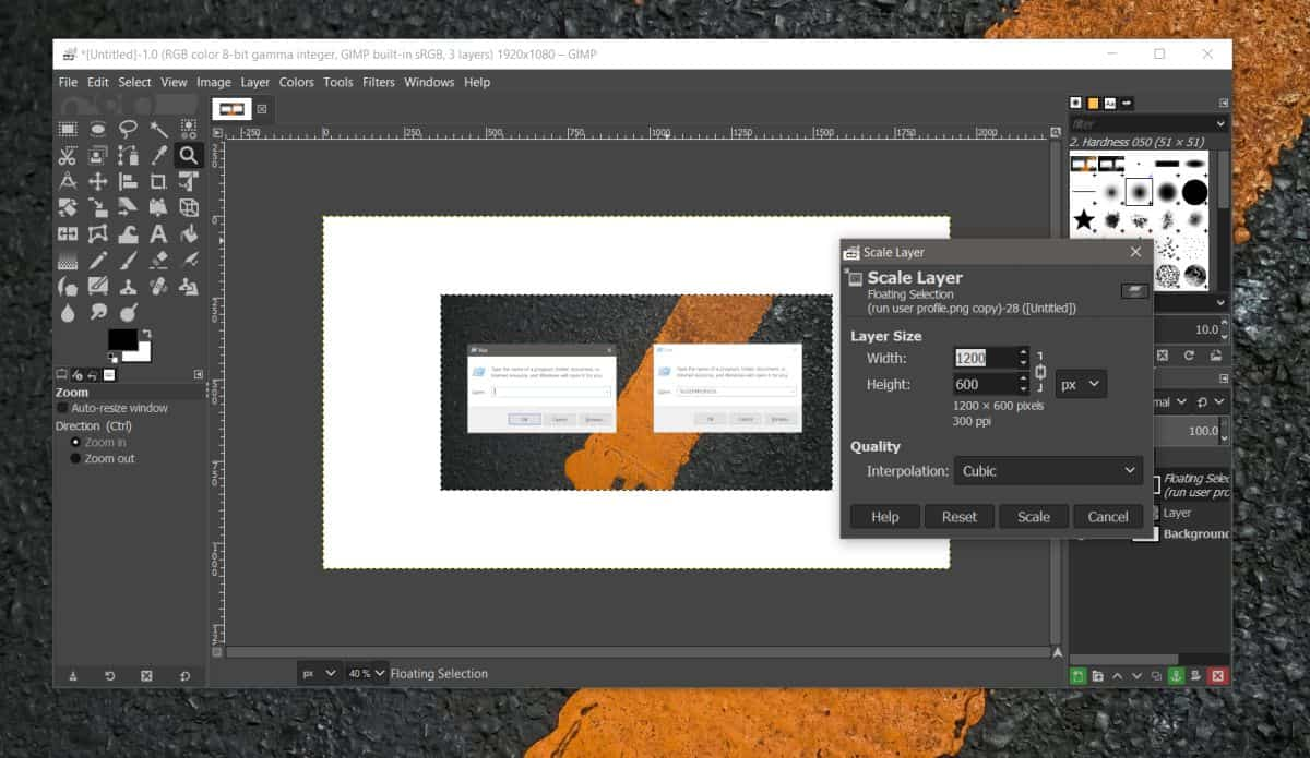 how to resize an image in gimp on windows 10 2 How to resize an image in GIMP on Windows 10