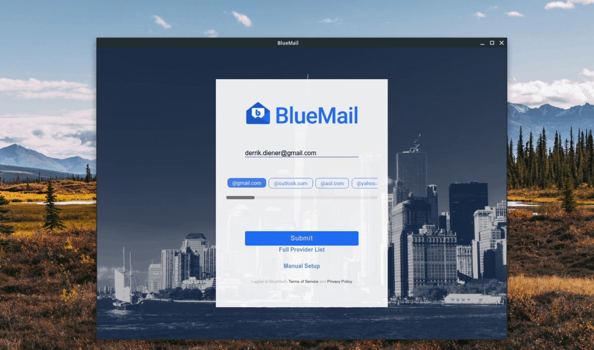 how to set up bluemail on linux 1 How to set up Bluemail on Linux