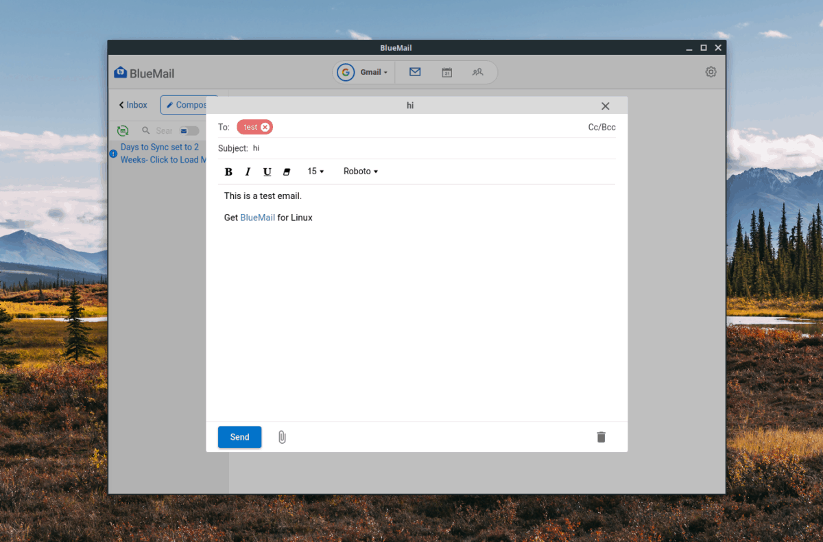 how to set up bluemail on linux 4 How to set up Bluemail on Linux