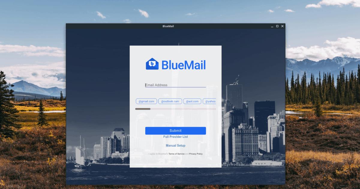 how to set up bluemail on How to set up Bluemail on Linux