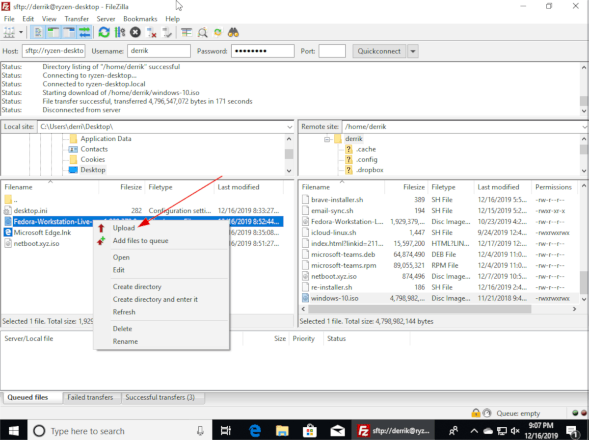 how to transfer large files between linux and windows 5 How to transfer large files between Linux and Windows