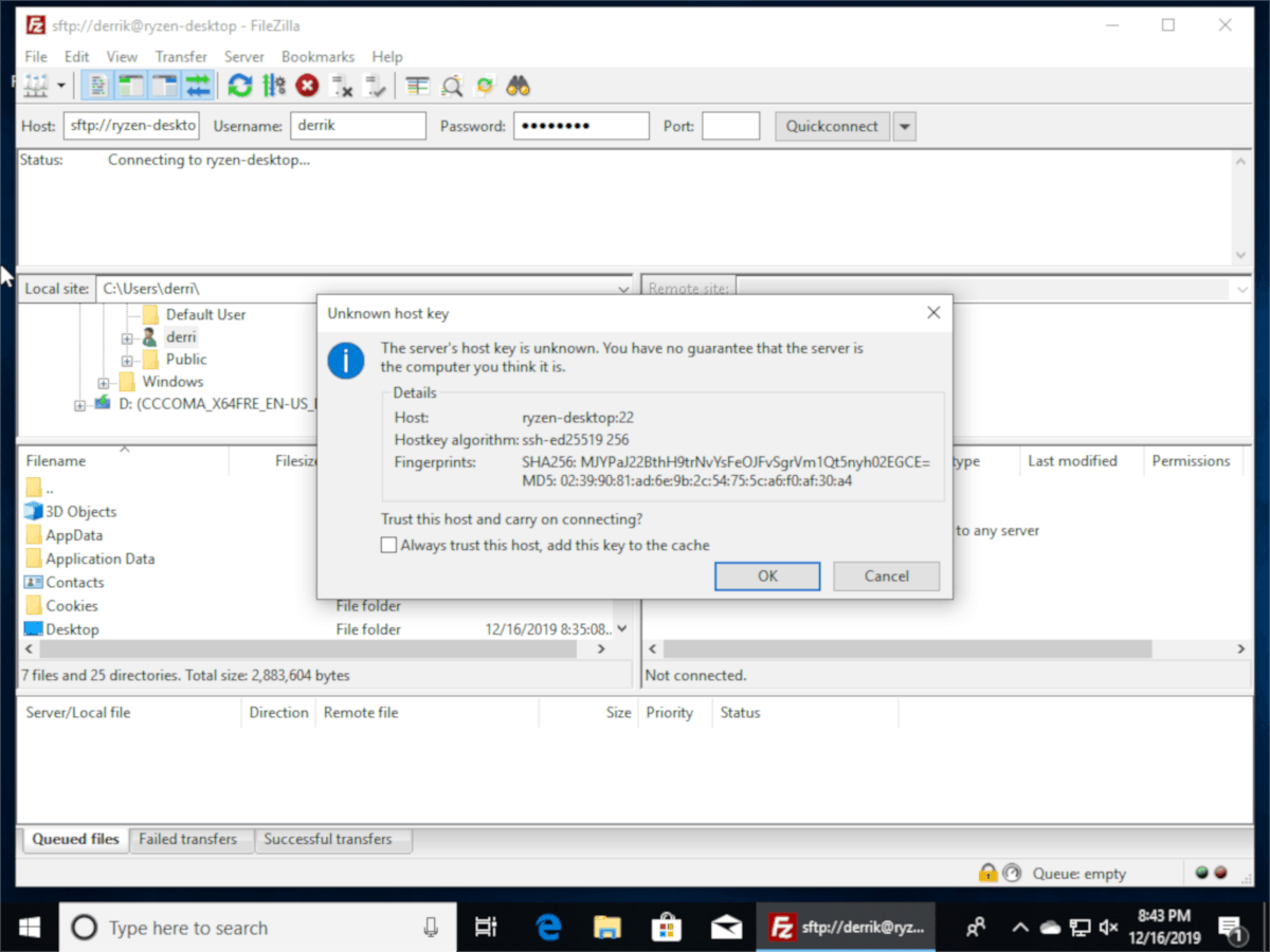 how to transfer large files between linux and windows How to transfer large files between Linux and Windows