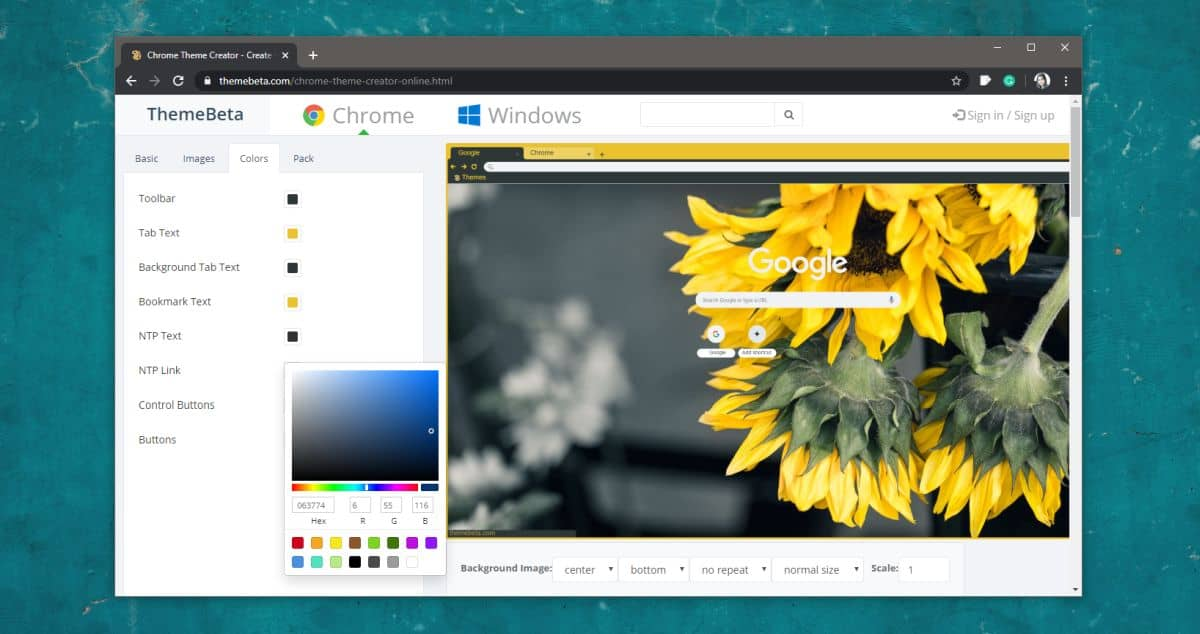 how to create a custom chrome theme 1 How to create a custom Chrome theme