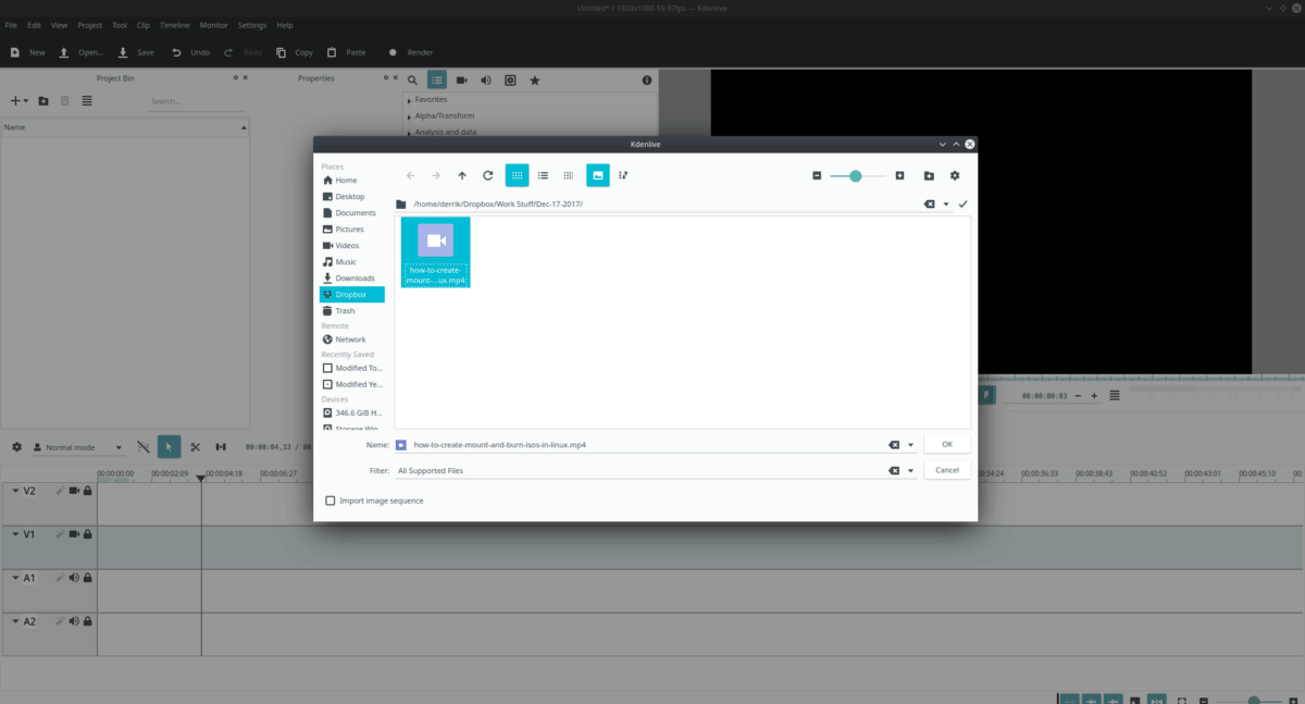 how to cut video footage in kdenlive on linux 1 How to cut video footage in Kdenlive on Linux