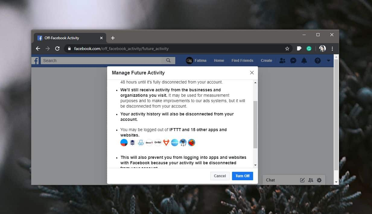 how to disable off site facebook activity tracking by apps and websites 2 How to disable off-site Facebook activity tracking by apps and websites