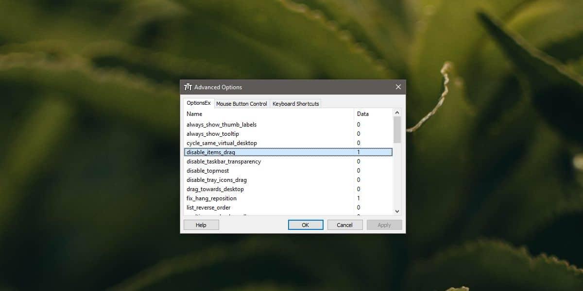 how to disable taskbar item rearranging on windows 10 1 How to disable taskbar item rearranging on Windows 10