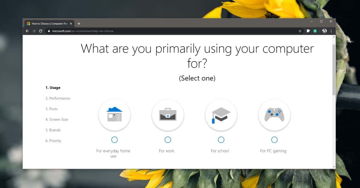 how to find the right windows 10 pc with the microsoft choose a computer tool 1 How to find the right Windows 10 PC with the Microsoft Choose a Computer tool