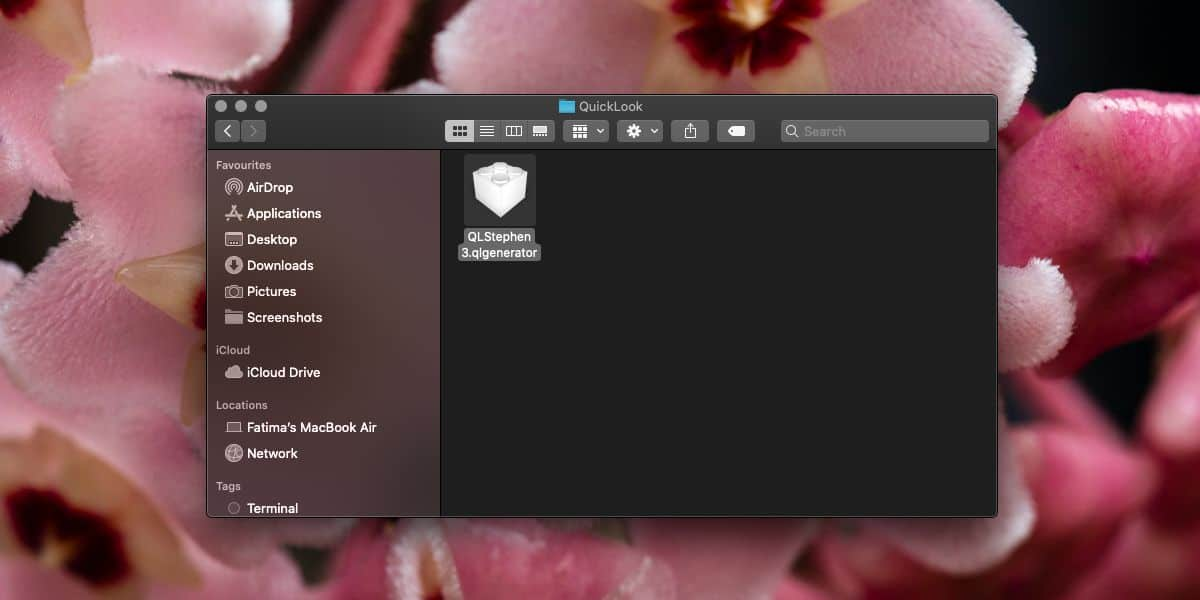 how to install a plugin in quicklook on macos How to install a plugin in QuickLook on macOS