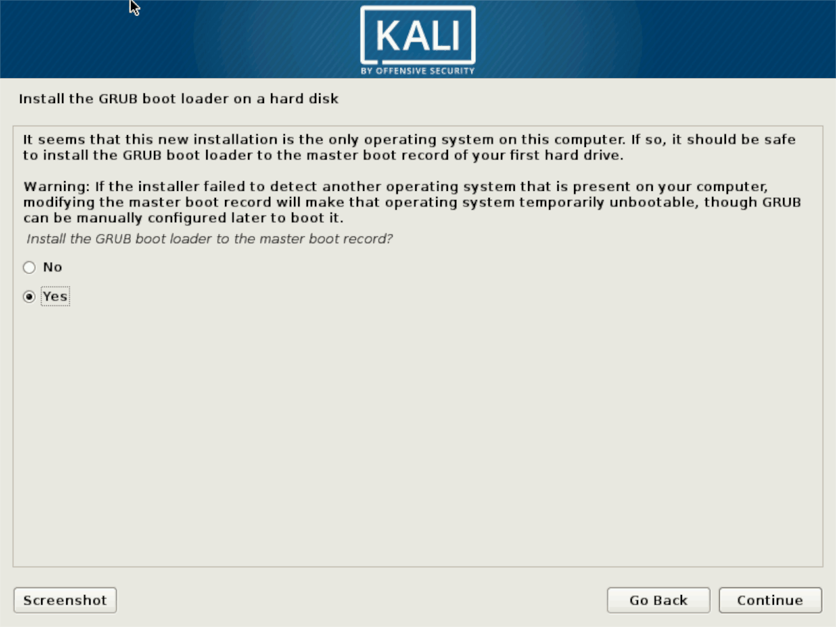 how to install the latest kali linux 10 How to install the latest Kali Linux