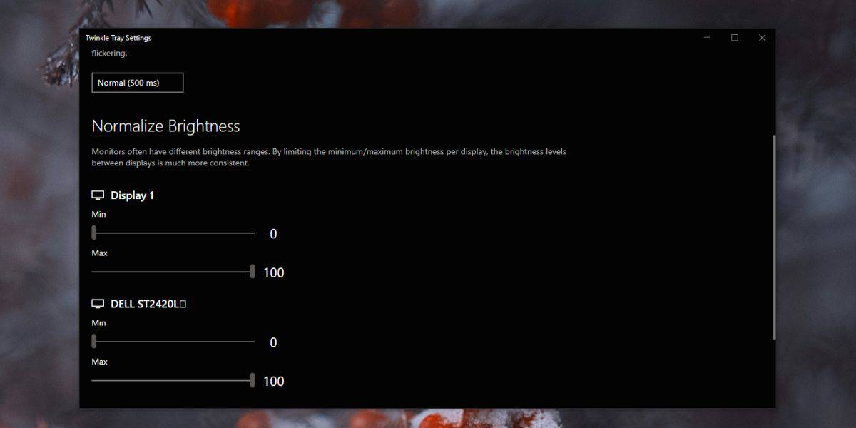 how to manage brightness for multiple monitors from the system tray on windows 10 1 How to manage brightness for multiple monitors from the system tray on Windows 10