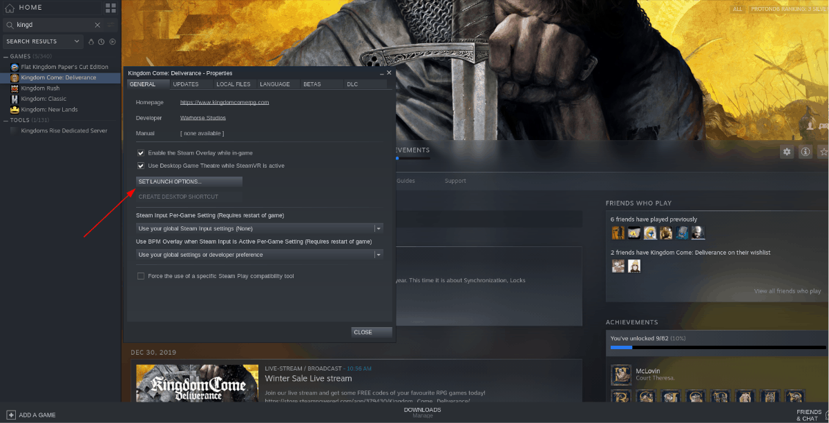 how to play kingdom come deliverance on linux 3 How to play Kingdom Come: Deliverance on Linux