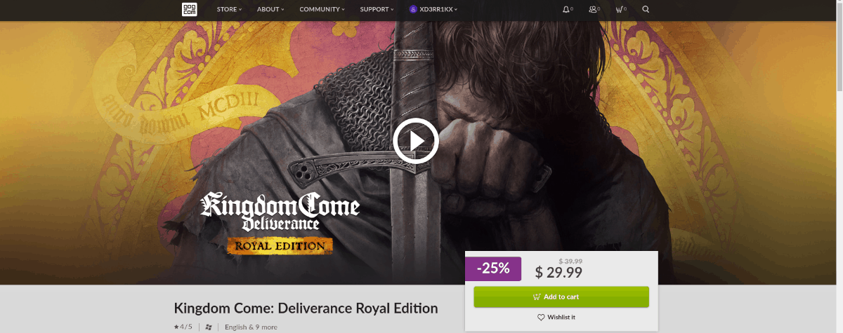 how to play kingdom come deliverance on linux 5 How to play Kingdom Come: Deliverance on Linux
