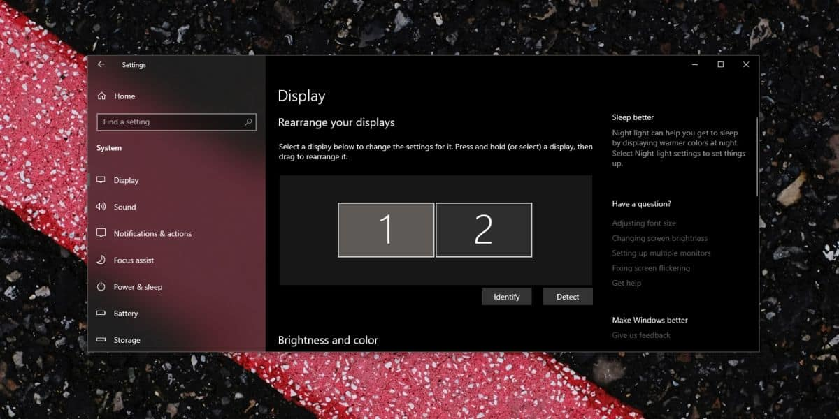 how to set different scaling levels of multiple monitors on windows 10 How to set different scaling levels of multiple monitors on Windows 10