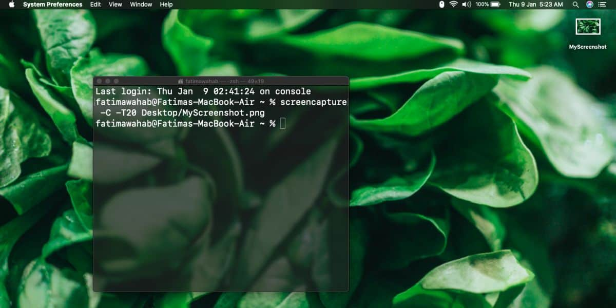 how to take a timed screenshot from terminal on macos 1 How to take a timed screenshot from Terminal on macOS