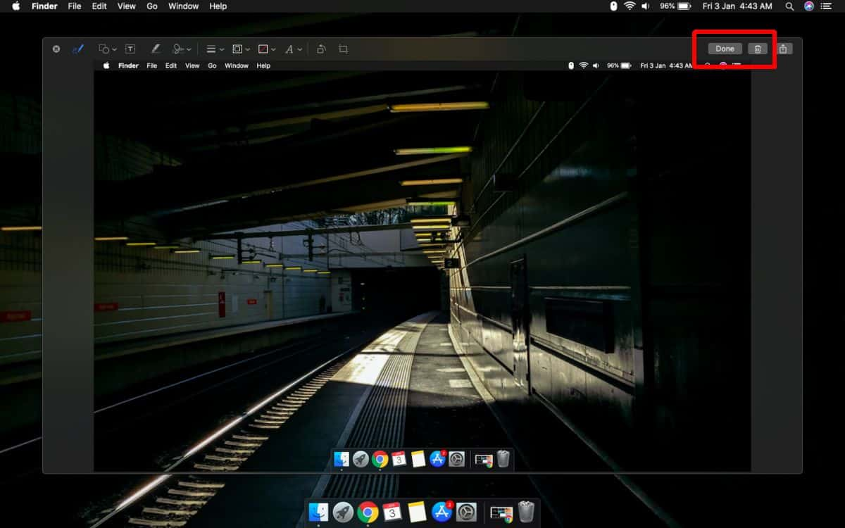 how to use the floating screenshot thumbnail on macos 1 How to use the floating screenshot thumbnail on macOS