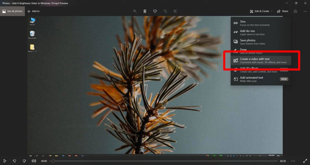 how to add text to a video on windows 10 How to add text to a video on Windows 10