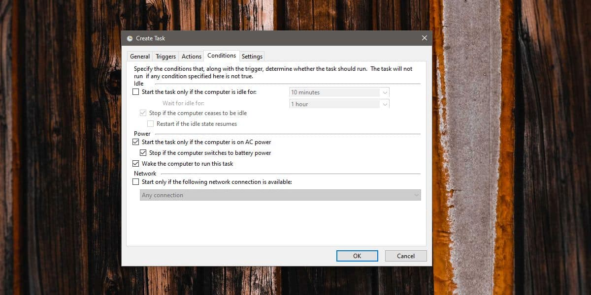how to create a wake timer for windows 10 3 How to create a wake timer for Windows 10