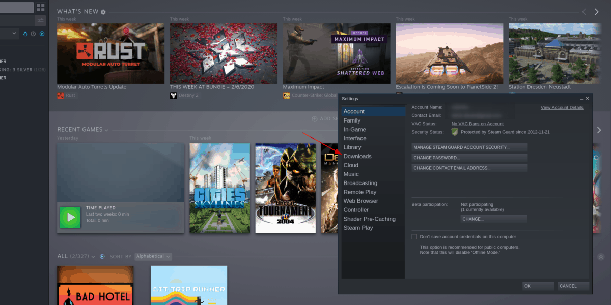 how to download steam games to usb on How to download Steam games to USB on Linux