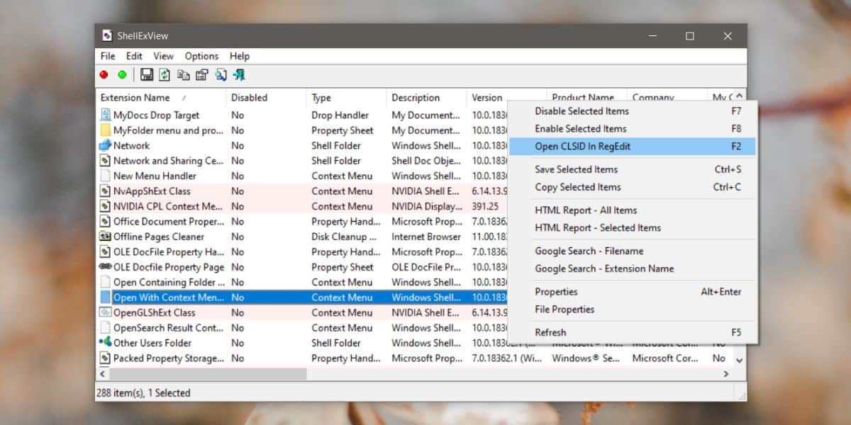 how to find the registry value for a context menu item on windows 10 1 How to find the registry value for a context menu item on Windows 10