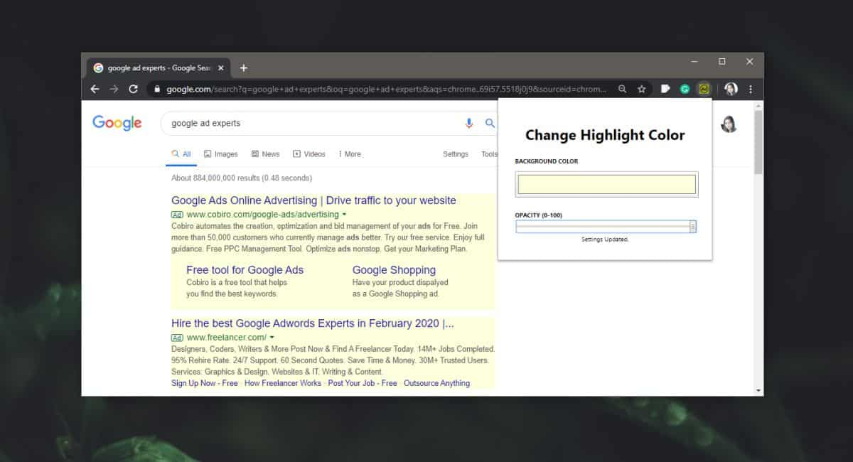 how to highlight ads on the google search results page in chrome 1 How to highlight ads on the Google search results page in Chrome