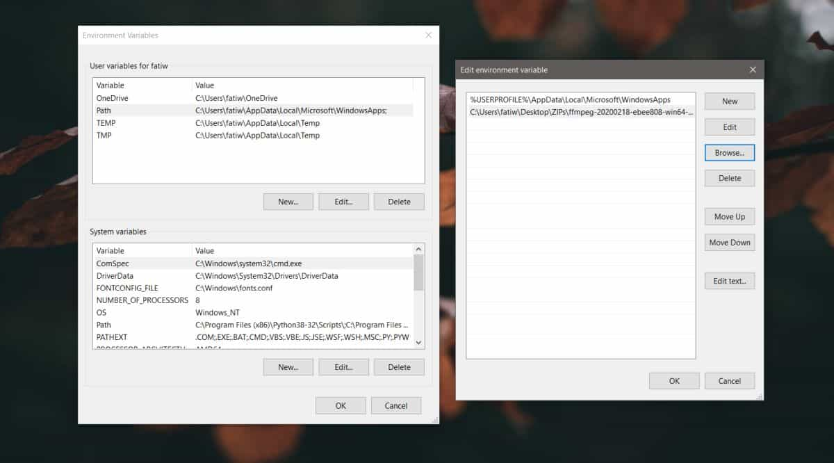 how to install ffmpeg on windows 10 1 How to install FFMPEG on Windows 10