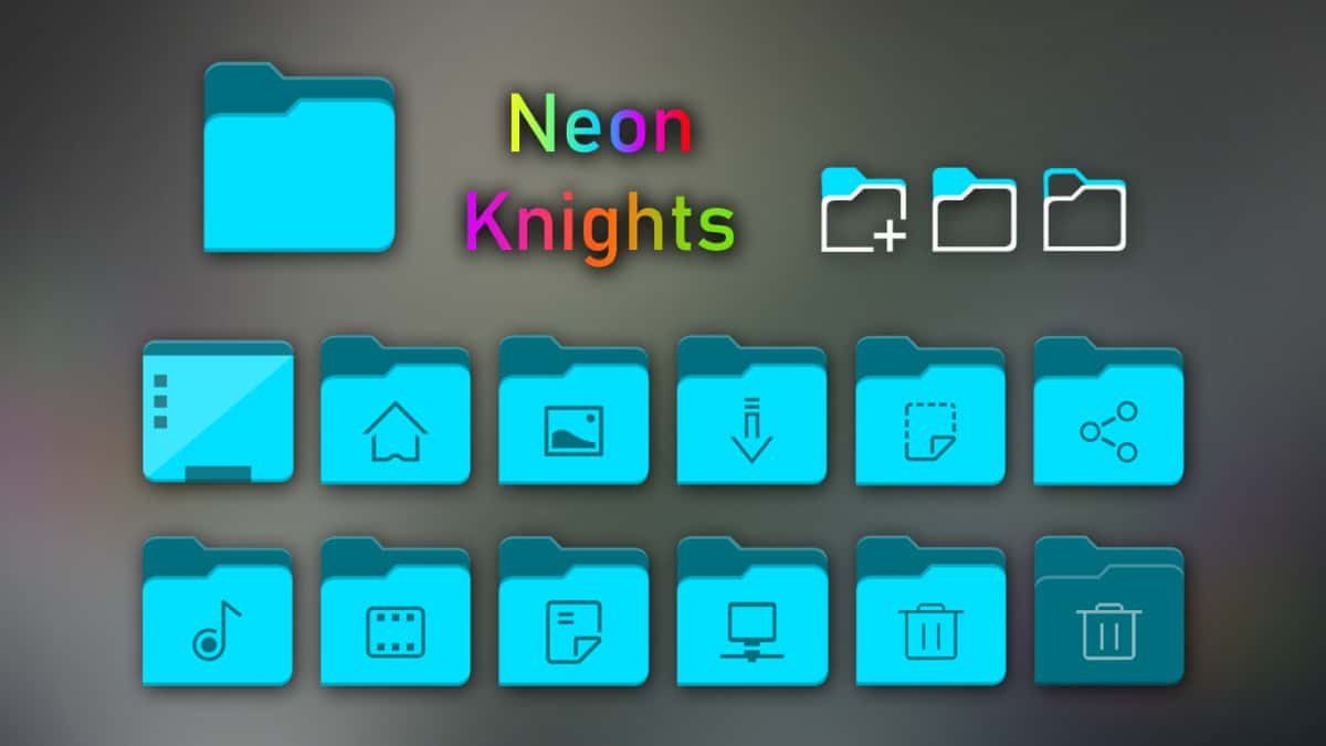 how to install the neon knights icon theme on linux 1 How to install the Neon Knights icon theme on Linux