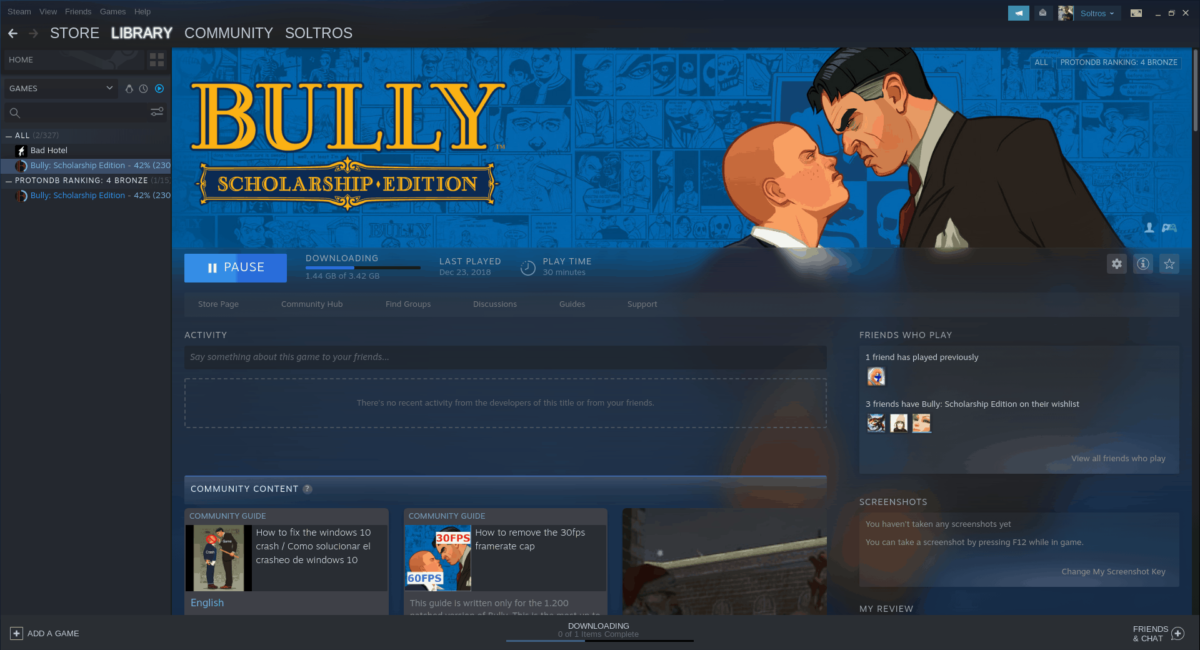 how to play bully scholarship edition on linux 2 How to play Bully: Scholarship Edition on Linux