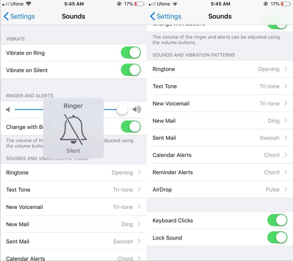 how to turn off typing sounds on the iphone 1 How to turn off typing sounds on the iPhone