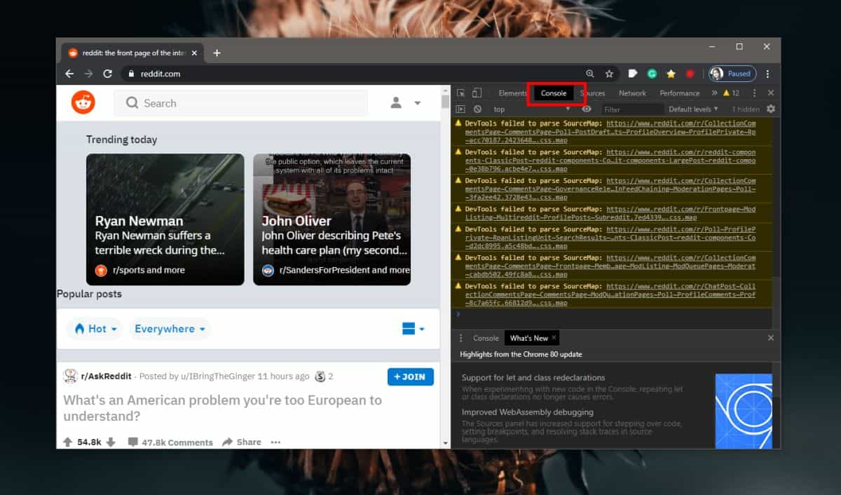 how to view and save the console log in a browser How to view and save the console log in a browser