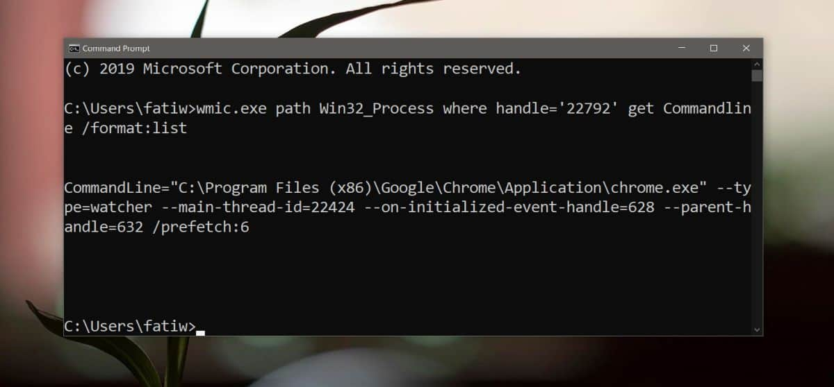 how to view command line arguments for a running app on windows 10 2 How to view command line arguments for a running app on Windows 10