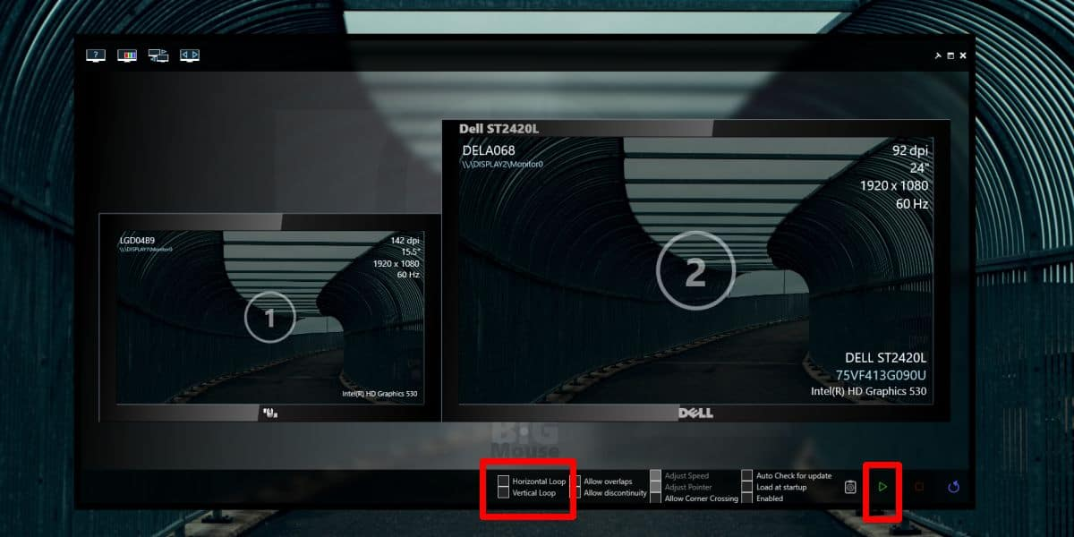 how to wrap the mouse across multiple monitors on windows 10 How to wrap the mouse across multiple monitors on Windows 10