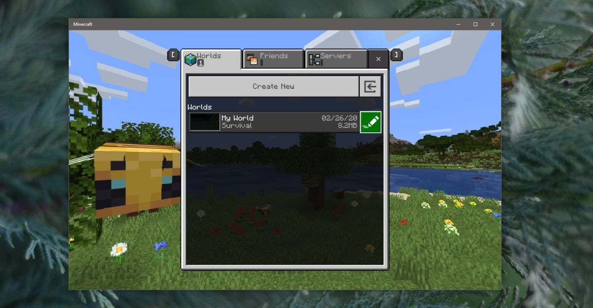 how to change the game mode for a world in minecraft on windows 10 How to change the game mode for a world in Minecraft on Windows 10