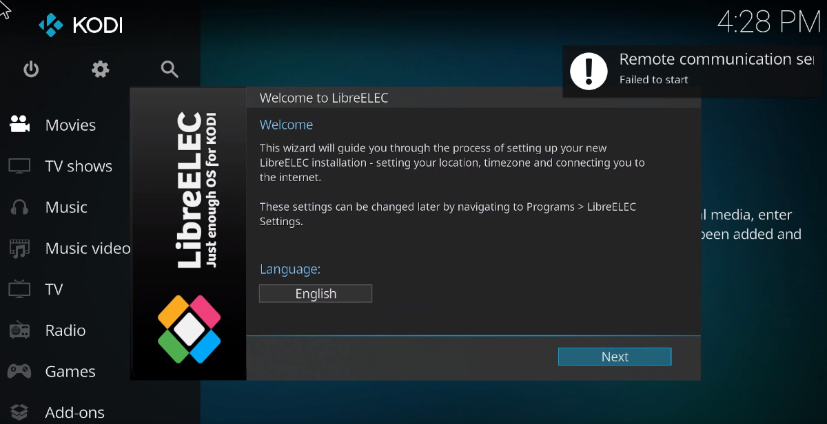 how to install libreelec on the raspberry pi 4 1 How to install LibreELEC on the Raspberry Pi 4