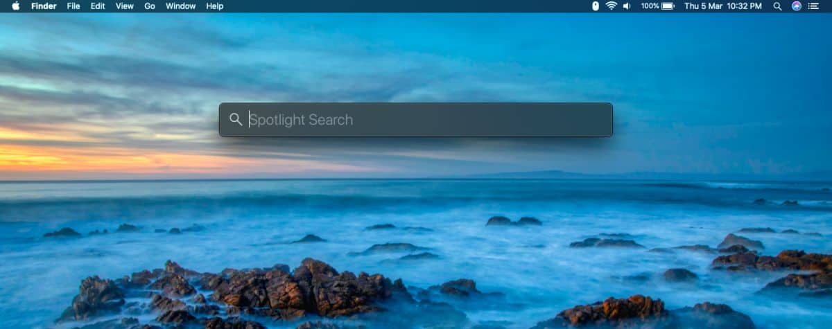 how to move the spotlight search bar on macos 1 How to move the Spotlight search bar on macOS