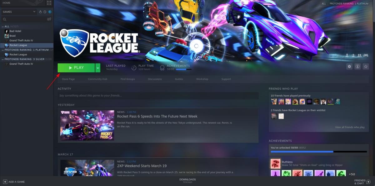 how to run rocket league on linux 2 How to run Rocket League on Linux